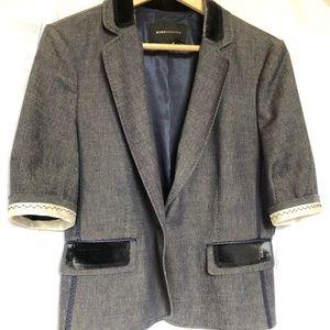 BCBG Max Azria Suit Jacket Skirt sz L 10